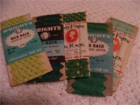 Vintage Cotton Rick Rack in Original packaging, More Great Colors